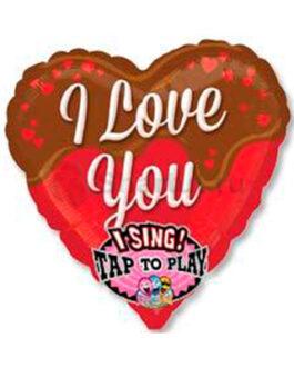 """Поющий шар """"I love you"""""""