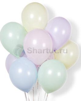 Облако воздушных нежных шариков 25 шт