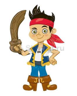 Ходячая фигура Пират