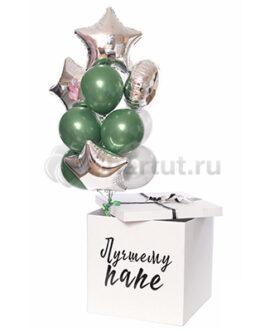 Коробка с шарами Любимому мужу