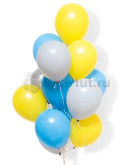 Облако из воздушных латексных шаров 25 шт