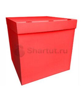 Коробка для воздушных шаров красная