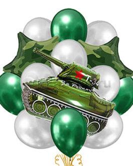 Военная композиция на 23 февраля
