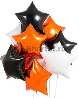 Композиция шаров Хэллоуин звезды