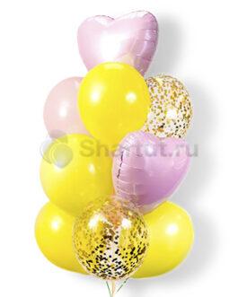 Композиция ярких шариков