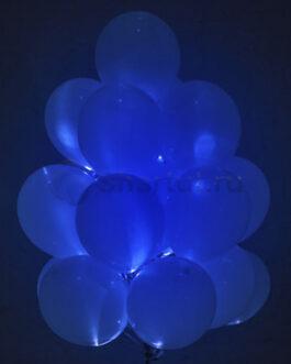 Светящиеся шары с диодами «Синие» 20 шт