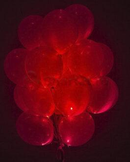 Светящиеся шары с диодами «Красные» 20 шт