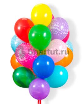 Облако шаров на день рождения 20шт.