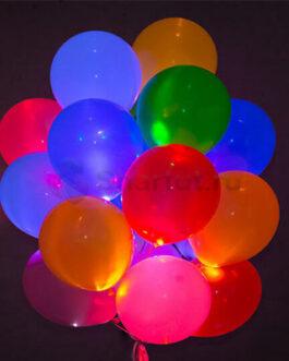 Светящиеся шары с диодами «Ассорти» 20 шт