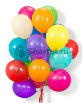 Облако цветных пастельных шаров 20шт.