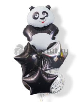 Композиция шаров с пандой