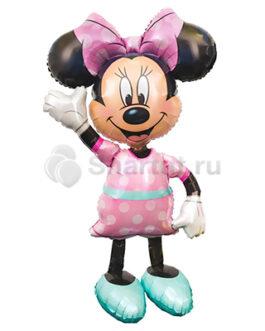 Ходячая фольгированная фигура Минни Маус
