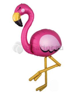 Ходячая фольгированная фигура Фламинго