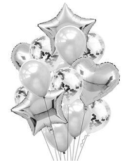 Композиции из фольгированных шаров