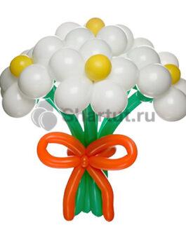 Цветы из шаров «9ть ромашек»
