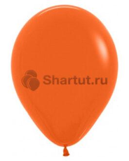 Шар латексный «Оранжевый» 30 см