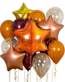 Композиция воздушных из шаров «Осенняя»