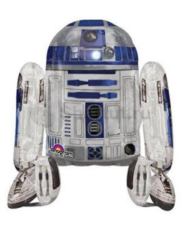 Ходячая фольгированная фигура R2-D2