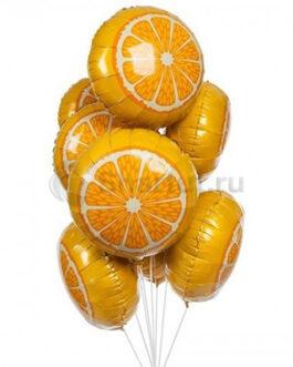 Композиция из шаров Апельсины