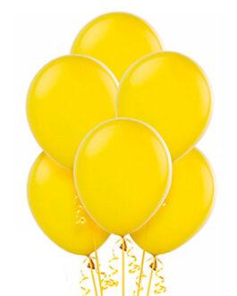 Желтые шарики